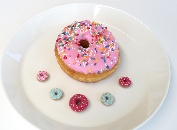 fuzz pink donuts